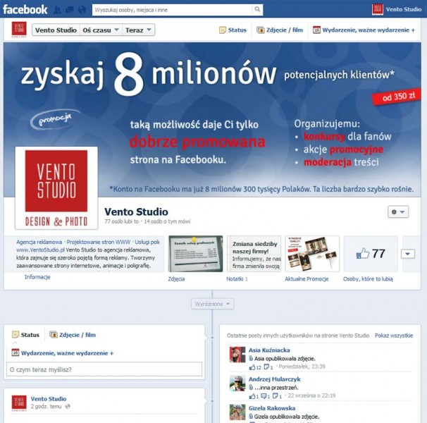 Konkurs na Facebook Jelenia Góra
