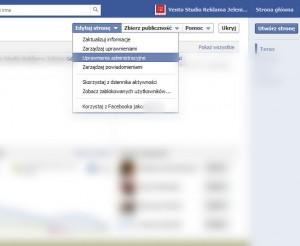 jak dodać administratora na fb?