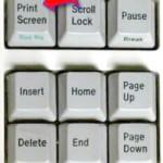 gdzie jest klawisz print screen